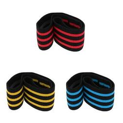 Elastic Non Slip Hip Resistance Bands Fitness Equipment Yoga