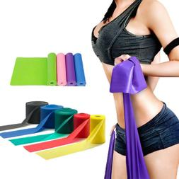 Elastic Rubber Resistance Bands Fitness Workout Training Ban