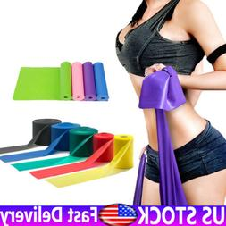 Elastic Yoga Band Exercise Fitness Stretch Resistance Home G