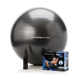 DYNAPRO Exercise Ball 2,000 lbs Stability Exercise Ball Prof