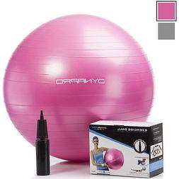 DynaPro Direct Exercise Ball with Pump GYM QUALITY Fitness B