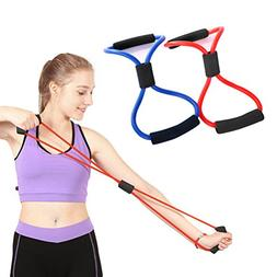 Odowalker Exercise Band Training Resistance Bands Rope Tube