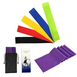 Hiltong Exercise Bands Resistance Elastic Bands for Exercise