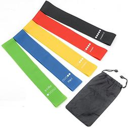 Exercise Bands Resistance Fitness Loops Workout Bands for Le