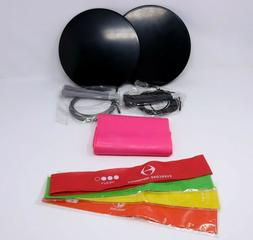 Exercise Bands Workout Stretch Band Ab Plates Jump Ropes Exe