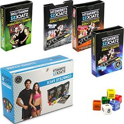 Exercise Cards Complete Pack: Strength Stack 52 Bodyweight W