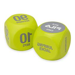 FILA Accessories Exercise Dice for Group Exercise & Fitness
