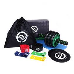 Core Crush Exercise Equipment Fitness Kit - 5 Resistance Ban