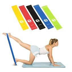 Toplus Exercise Resistance Bands for Daily Workout, Pilates,