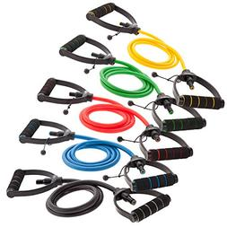 DYNAPRO Exercise Resistance Bands – Adjustable, Comfort Ha