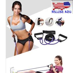 Exercise Latex Resistance Band Fitness Stretch Training Yoga