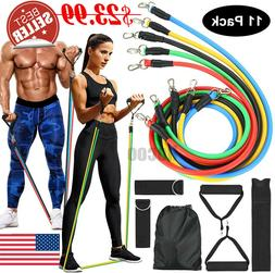 Exercise Resistance Bands Set -  Home Workouts, Physical The
