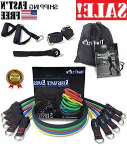 TheFitLife Exercise Resistance Bands with Handles -5 Fitness
