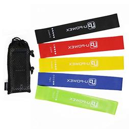 Wishesport Exercise Resistance Loop Bands - Set of 5, 12-inc