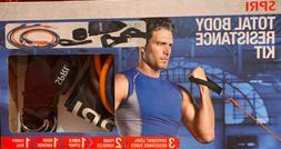 SPRI Exercise Total Body Resistance Band kit fitness exercis
