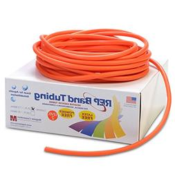 REP Band Exercise Tubing 25-ft. Length Color: Orange, Level: