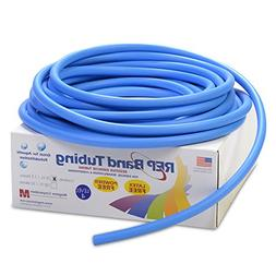 REP Band Exercise Tubing 25-ft. Length Color: Blue, Level: 4