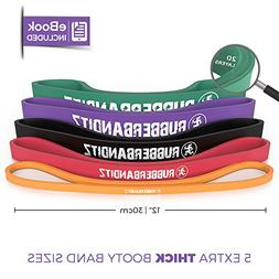 RubberBanditz Extra Thick Booty Bands - for Glutes and Legs