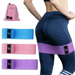 Vinsguir Fabric Resistance Bands For Legs And Butt, Exercise
