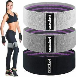 Fabric Resistance Bands for Legs and Butt, Exercise Bands Wo