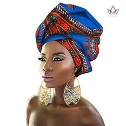 Fabric - Batik Printed Cloth African Fabric Ethnic Scarf Hea