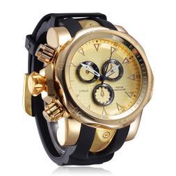 Famous Brand Big Dial Watch for Men Quartz Big Face Watches