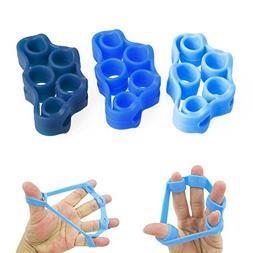 nex&co Finger Exerciser Hand Strengthener, 3 Level Resistanc