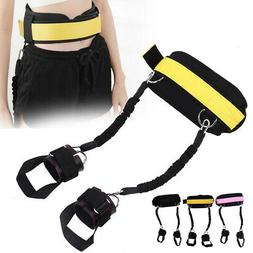 Fitness Bounce Trainer Rope Resistance Band Basketball Tenni