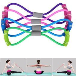 us fitness equipment elastic resistance bands tube