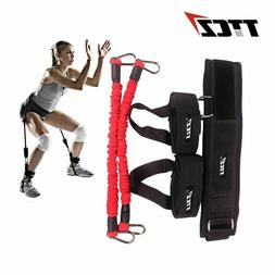 Fitness Jump Trainers Resistance Bands Rope Leg Strength bel