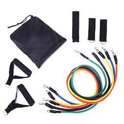 ESOEM Fitness Resistance Band Workout Set Removable Lightwei