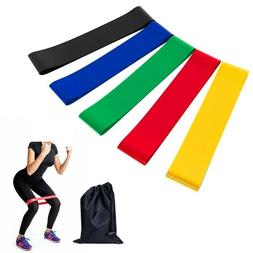 Fitness Resistance Bands Exercise Loop Latex Rubber Gym Equi