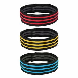 Fitness Resistance Bands Nylon Yoga Workout Hips Glutes Exer