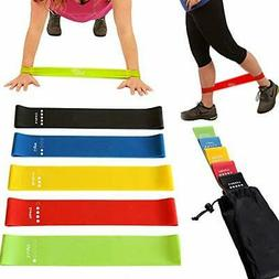 Fitness Resistance Bands,Pilates Flexbands for Indoor Outdoo
