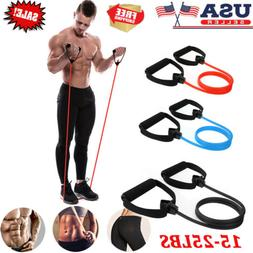 Fitness Resistance Bands with Handles  *Yoga Exercise*