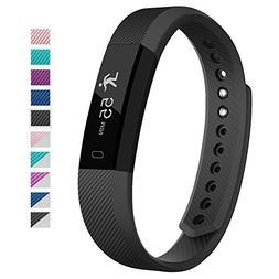 007plus Fitness Tracker, D115 Bluetooth 4.0 Pedometer Sleep