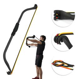 Fitness Workout Resistance Bands Bow Exercise Portable Home