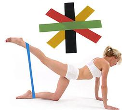 1x Fitness Yoga Latex Exercise Resistance Stretch Crossfit L