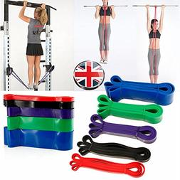 Meiyiu Exercise Resistance Loop Bands Yoga Resistance Belt L