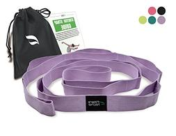 fitter's niche Yoga Strap Stretching, Exercise Stretch Band