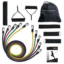 Mpow G-2 Resistance Bands, Upgraded Stretch Bands with Band