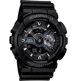 Casio G-Shock X-Large Display Stealth Black Watch  - Water a