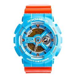 Casio G-Shock NEO POP COLOUR Series Blue Orange Mens Resin W