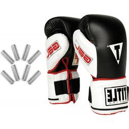 Title Boxing TITLE Gel Power Weighted Super Bag Gloves, Regu
