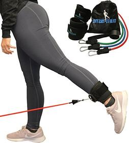 Core Prodigy Glute-Tastic - Ankle Kickback Strap with Resist