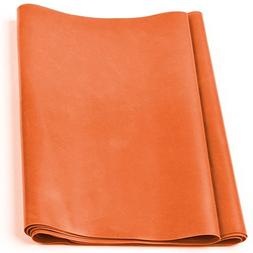 GOFIT Flat Fitness Bands, Medium Orange