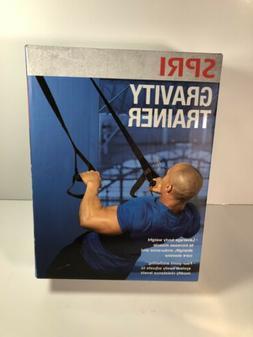 SPRI Gravity Suspension Weight Trainer, Black, Door system h