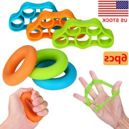 Hand Resistance Bands Finger Stretcher Extensor Exerciser Gr