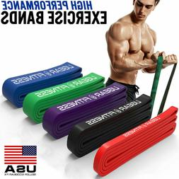 Heavy Duty Exercise Bands Latex Resistance Fitness GYM Power