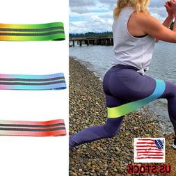 Heavy Duty Hip Circle Resistance Bands Booty Yoga Pilates Gy